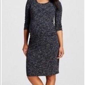 """695ce5af072b3 Liz Lange for Target Dresses - """"Liz Lange"""" Maternity Dress in Space Dye  Black"""